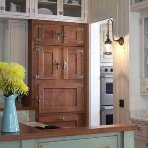 Mimic Furniture With Custom Panel Refrigerators Fridge