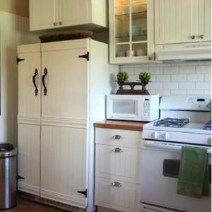 DIY Custom Panel Refrigerators