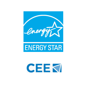 Energy Star and CEE logos