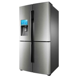 4 Door Refrigerator with Android Capable LCD